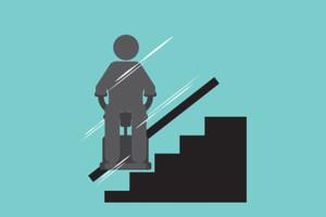 Hilfe mit Treppenlift