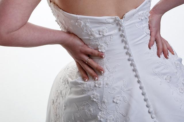 Hochzeits-Kleid
